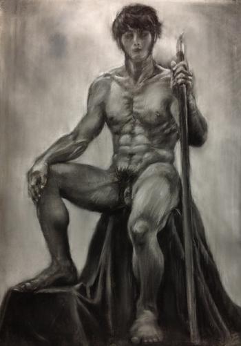 初男性ヌード